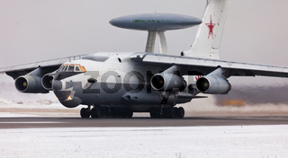 Aircraft with radar in Russia