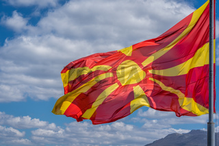 Republic of Macedonia  national flag