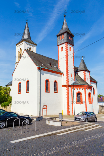 Ingelheim am Rhein, die Saalkirche. 21.05.2018.
