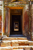 Ancient doorways in The Angkor