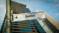 Street Sign to Dentist