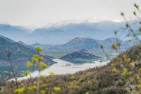 Landscape of the Skadar Lake National Park