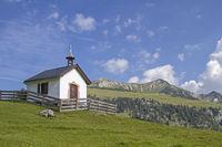 Bergkapelle im Mangfallgebirge