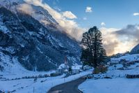Blue hour in Valle Aurina