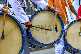 Brazilian drums players