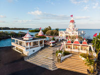 Sagar Shiv Mandir Hindu Temple on Mauritius Island