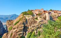 The Monastery of Great Meteoron in Meteora