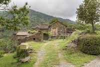 Typisches Bauernhaus in der Ardeche, Südfrankreich