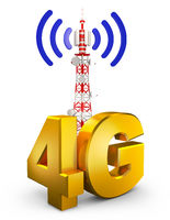 4G and tower