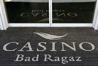 Fussmatte am Eingang zum Casino Bad Ragaz