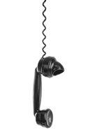Vintage telephone receiver