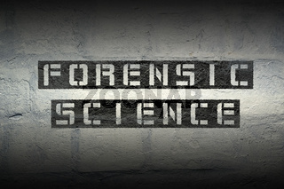 forensic science GR