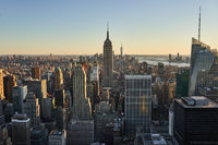 Aussicht auf das Empire State Building in New York