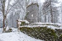 Königshütte im Harz Winter Königsburg