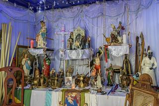 Brazilian religious altar