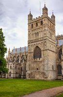 The North Tower of Exeter Cathedral. Exeter. Devon. England