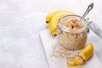 old fashioned oats and banana