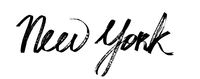 New York - Modern calligraphy