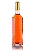 Wein Flasche Weinflasche Rosewein rose freigestellt