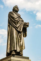 Bronce Statue of Martin Luther
