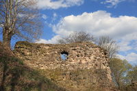 Schlossberg Ruine in Forbach / Frankreich