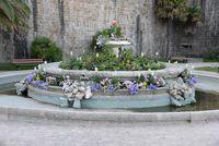 Brunnen in Saint-Malo