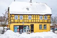 Impressionen aus Harzgerode im Winter
