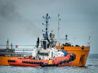 tanker for transportation of oil, Black sea