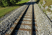 Eisenbahnschienen / Railways tracks