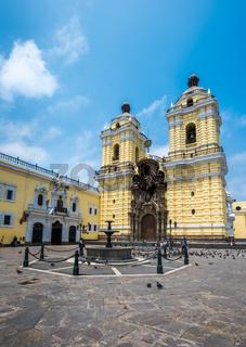 Convento de San Francisco or Saint Francis Monastery, Lima, Peru
