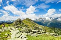 Der Speikboden-Gipfel, Ahrntal bei Sand in Taufers, Südtirol