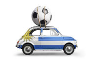Uruguay football car