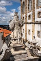 Johannine Library in main quadrangle of University of Coimbra