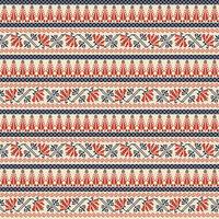 Palestinian embroidery pattern 28