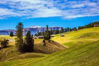 Well-known ski resort