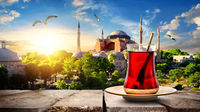 Tea and Hagia Sophia