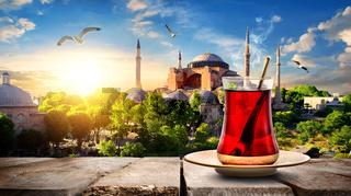 Tea and Hagia Sophia