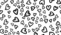 Fun Hearts Seamless Pattern