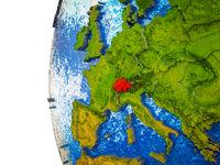 Switzerland on 3D Earth