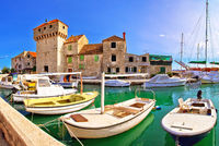 Kastel Gomilica old island town on the sea near Split