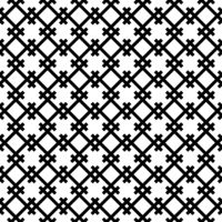 Seamless pattern based on japanese woodwork art.Black and white color.