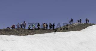 Gipfelwanderung, Fellhorn, Allgäuer Alpen
