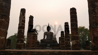 Wat Mahathat Temple, Sukothai, Thailand