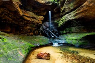 Waterfall in Centennial Glen Canyon