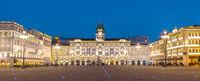 City Hall, Palazzo del Municipio, Trieste, Italy.