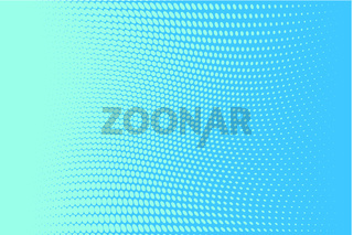 Abstract futuristic halftone pattern. Comic background. Dotted backdrop with circles, dots, point small scale.