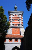 Rotes Tor in Augsburg, Bayern, Deutschland