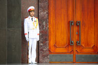 Ho Chi Minh Mausoleum Guards