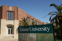 NEW ORLEANS,LA/USA -03-22-2019: Campus of Tulane University in New Orleans