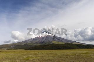 Vulkan Cotopaxi, Ecuador